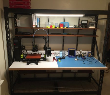Excellent How To Build Your Own Maker Workbench Opensource Com Evergreenethics Interior Chair Design Evergreenethicsorg