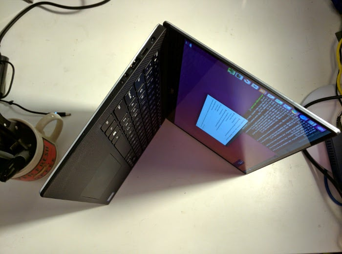 Dell XPS 13 Developer Edition's left side